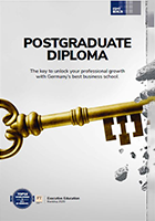 Cover of the Postgarduate Diploma brochure