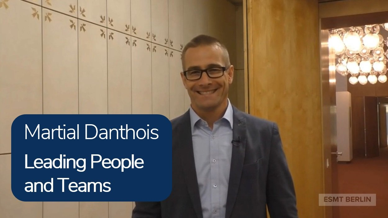 Leading People and Teams - Martial Danthois
