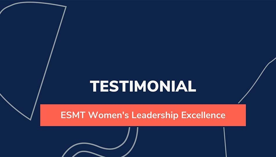 Thumnail video testimonial Women's Leadership Excellence
